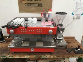 La SanMarco Coffee Machine (105E) worth £4000