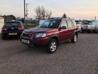 2004 Landrover Freelander TD4 1 owner from new low miles