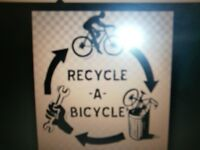 Any adult unwanted bicycles recycling, unwanted bikes collection (Must be FREE)