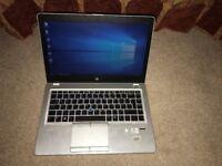 HP Elitebook Folio 9470m slim laptop, intel i5, SSD drive.