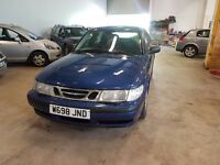 SAAB 93 W698 JND SOLD AS SPARES OR REPAIRS