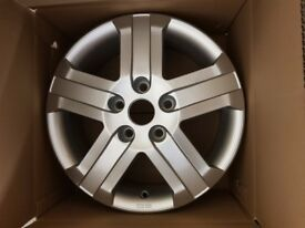 FULL SET OF 16 INCH ALLOY WHEELS TO FIT RENAULT TRAFIC, VAUXHALL VIVARO, NISSAN PRIMASTAR