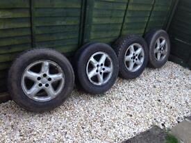 Rav4 alloy wheels