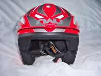 Nau Overall Road/Offroad/Trials Helmet Size Medium. Excellent Condition Minimal Road Use
