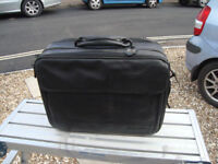 Leather Briefcase, Laptop Bag and Weekender Case