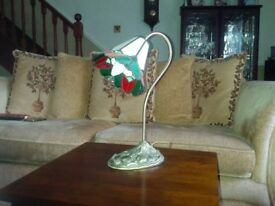 Various coloured table/reading lamp