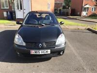 Renault clio 1.5 dci 9 months mot £30 tax a year