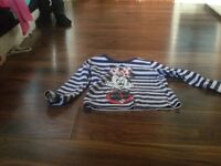 a mini mouse girls top