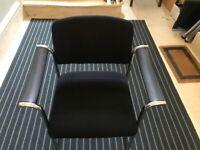 Vintage, modern desk/dining chairs. Set of 4
