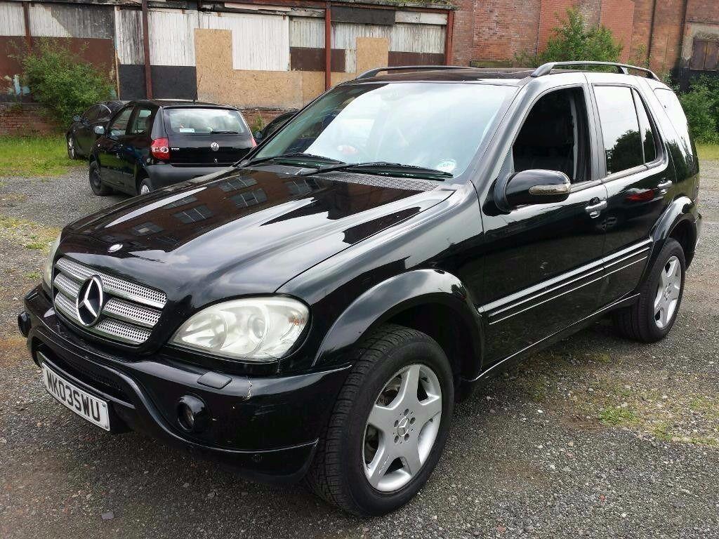 2003 mercedes ml55 amg 5 5 v8 auto 360 bhp 7 months mot