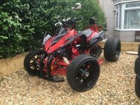 Jinling 250cc road legal quad poss swap for van