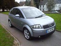 Audi A2 1.4 Tdi - £30 Road Tax - Near 70 mpg LOW LOW Miles