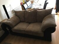 Fashionable 2 and 3 Seater sofas - great condition