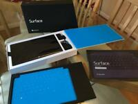 Surface RT 64GB with Touch Keyboard Cover and Type Keyboard Cover with Backlight