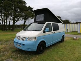 VW T5 transporter fully fitted camper
