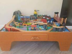 Universe of Imagination Rocky Mountain train table