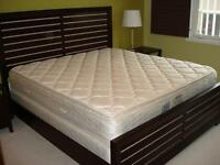*** QUALITY Wood Bedroom Furniture & KING Mattress ***