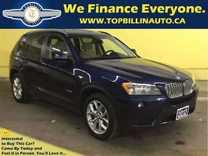 2013 BMW X3 xDrive28i, Clean Carproof, Fully Loaded
