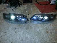 vetcra b headlights and rear lights