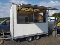 Catering trailer lpg equipment burger van horsebox mobile kitchen icecream stand