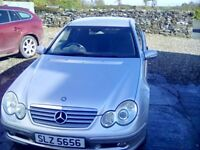 Mercedes C-Class Coupe (2004) - £900 ONO. MOT until Jan 2019. Timing Manifold broken.