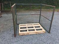 Pallet protector frame