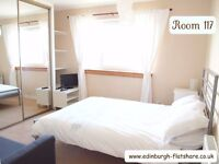 Edinburgh Flatshare R 117 - Superb Double Room - ALL BILLS INCLUDED IN MONTHLY RENT
