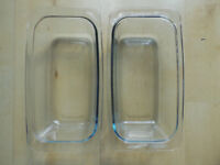 PHILIPS ECKO GLASS HOSTESS TROLLEY DISHES X2