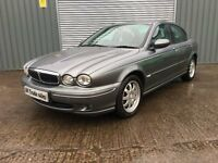2004 JAGUAR X-TYPE SALOON 2.0 V6 *** FULL YEARS MOT *** similar to golf focus a6 a4 a3 3 series