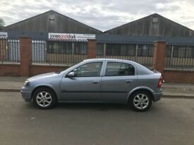 VAUXHALL ASTRA 1.6 ACTIVE ** LOW MILAGE CAR WITH VERY LONG MOT **