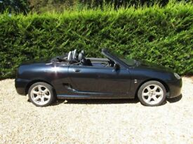 Superb 1.8 MGTF in metallic Anthrancite Full Service History only 36000 miles not Mazda mx5, BMW z3