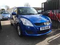 Suzuki Swift 1.2 Petrol Manual 3 Door Hatchback Blue 2011 Fantastic Car