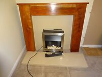 ELECTRIC HEATER WITH THE FIRE PLACE UNIT