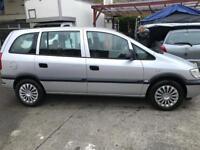 Vauxhall Zafira 1.6 Life VERY VERY LOW MILEAGE 36k! Full Service history, 7 Seater!