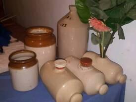 Vintage Stoneware & Ceramics
