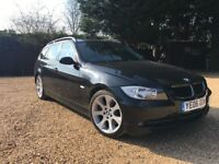 BMW 330I TOURING 2006 FULL SERVICE HISTORY LOW MILEAGE VERY CLEAN 320 325 330 520 530 A4 PASSAT PX