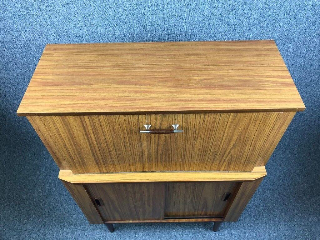 Teak bureau retro formica writing desk vintage delivery available
