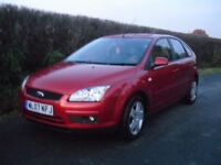 Ford Focus Style 1.6, long MOT, service history, low mileage