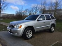 LHD LEFT HAND DRIVE JEEP GRAND CHEROKEE LIMITED 3.0 CRD AUTO 2008 FACELIFT WARRANTY PART EXCHANGE