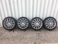 Renault Clio 197 R27 F1 Alloy Wheels