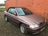 1993 Ford Escort Silhouette Barn Find Soon to be Classic