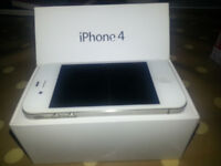 Boxed white Iphone 4 for sale, great condition. £45 ono