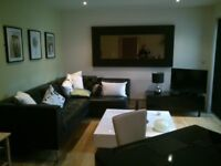 1 bed luxury apartment full furnished with in built entertainment. Just refurbed throughout. Parking
