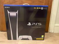 PRE SOLD* BRAND NEW SONY PLAYSTATION 5 PS5 DIGITAL EDITION CONSOLE