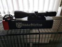 Nikko Stirling Diamond Illuminated Rifle Scope As New 3x12x56