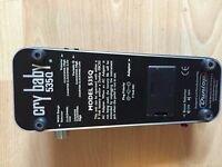 Jim Dunlop Cry Baby 535Q - Wah Pedal: Collection Only