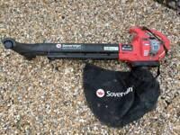 Sovereign SBV3200 petrol Lead Blower / Vacuum