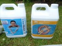 Swimming Pool Bit and Pieces Pump, Chlorine, Net, Filter, Hoses, Skimmer.