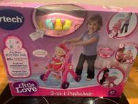 Vtech Little Love 3-in-1 Pushchair