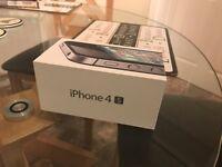 iPhone 4S, Black, 16GB, Virgin